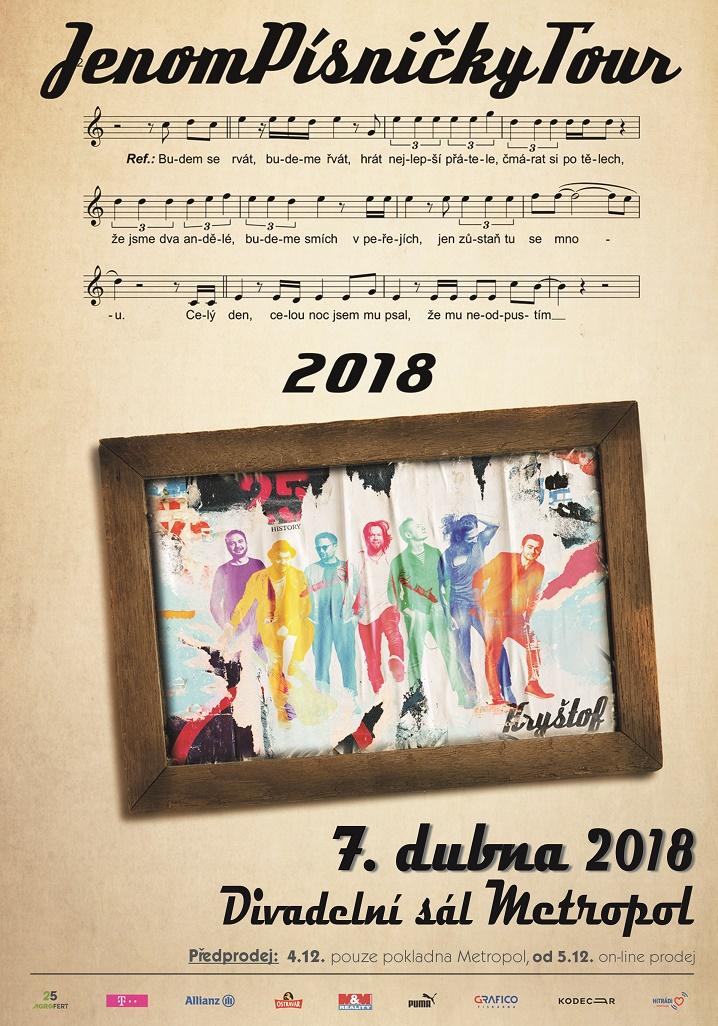 KRYŠTOF - JenomPísničkyTour 2018