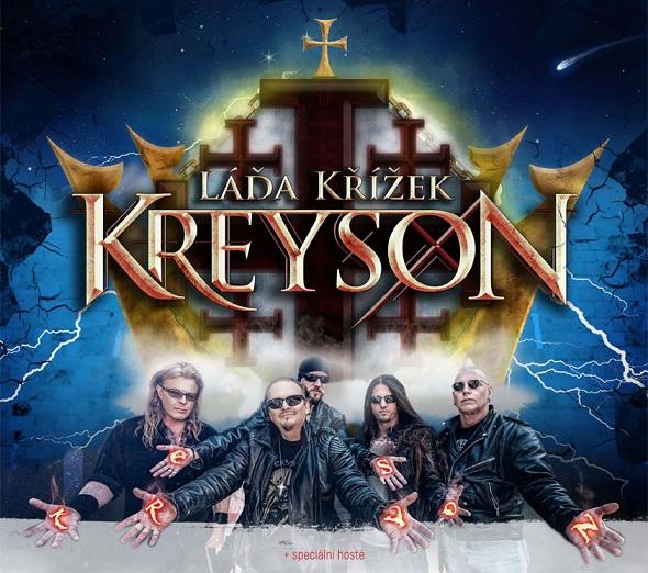 Heavy metalová legenda Kreyson vystoupí v Českých Budějovicích!