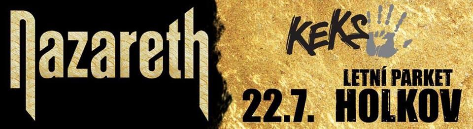 Nazareth /UK/ & Keks na Letní parket HOLKOV neděle 22.7.2018