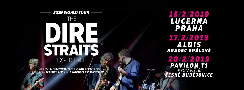 Příští rok přijede do Budějovic kapela The Dire Straits Experience!