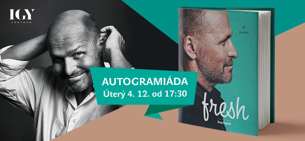 Autogramiáda Zdeňka Pohlreicha 4. 12. od 17:30 v IGY