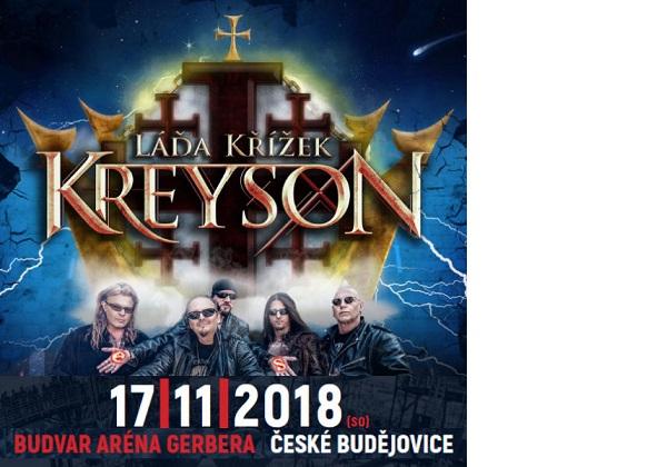 Láďa Křížek se skupinou Kreyson přijede s velkolepou show!