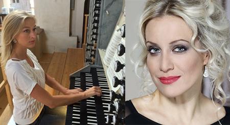 Tereza Mátlová /zpěv/, Michaela Káčerková /varhany/ MEZINÁRODNÍ HUDEBNÍ FESTIVAL ČESKÝ KRUMLOV