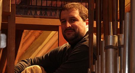 Karel Martínek /varhany/ MEZINÁRODNÍ HUDEBNÍ FESTIVAL ČESKÝ KRUMLOV