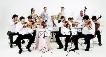 Radek Baborák /lesní roh/, Miriam Rodriguez Brüllová /kytara/  Baborák Ensemble / MEZINÁRODNÍ HUDEBNÍ FESTIVAL ČESKÝ KRUMLOV