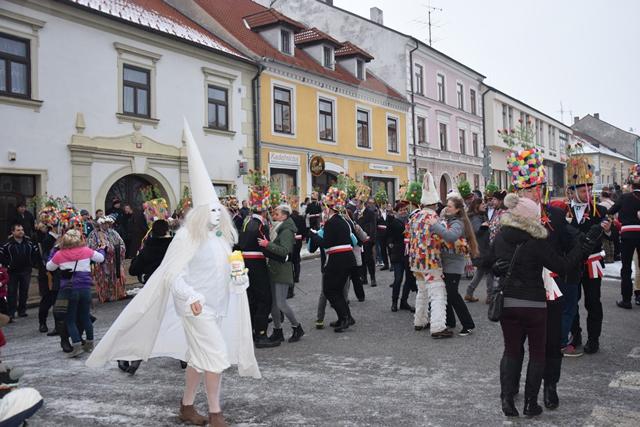 Masopust v Nových Hradech