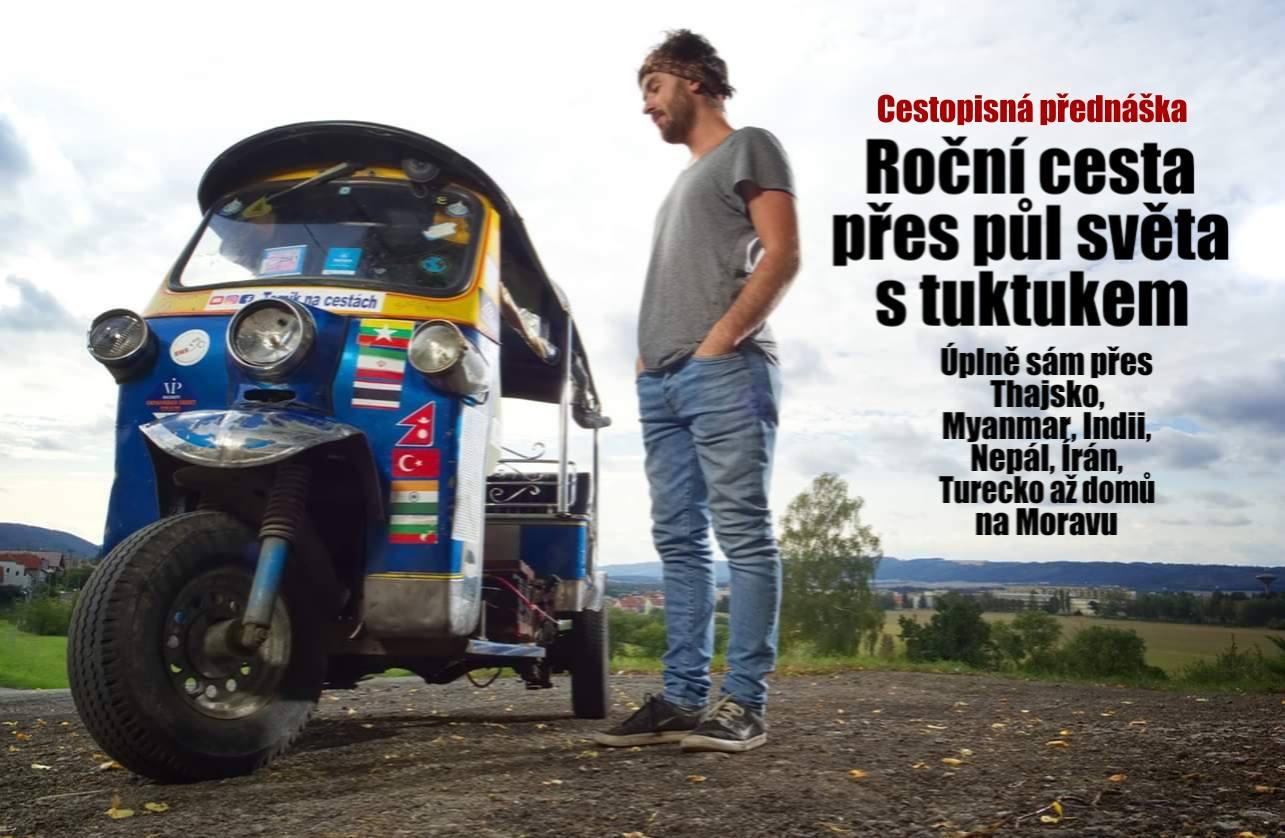 Tomík na cestách - Z Thajska až na Moravu s tuktukem