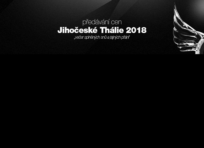 Vyhlášení cen Jihočeská Thálie 2018