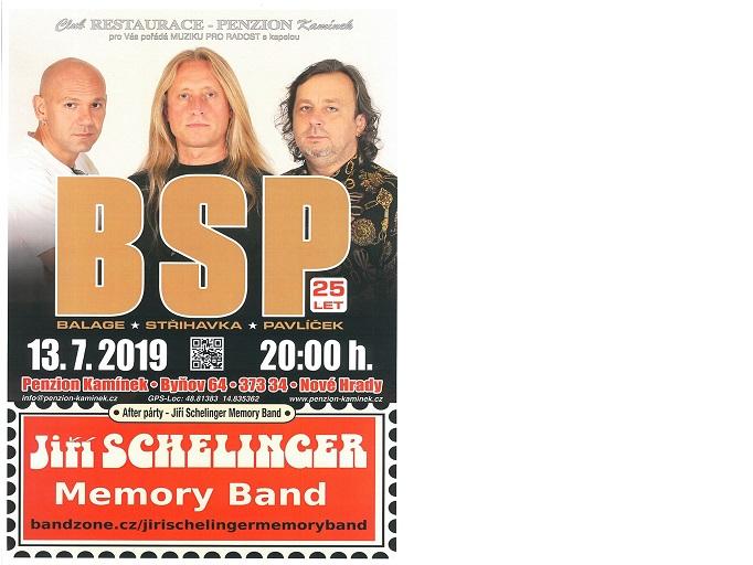 Koncert k 25. výročí BSP – O. Balage, K. Střihavka a M. Pavlíček