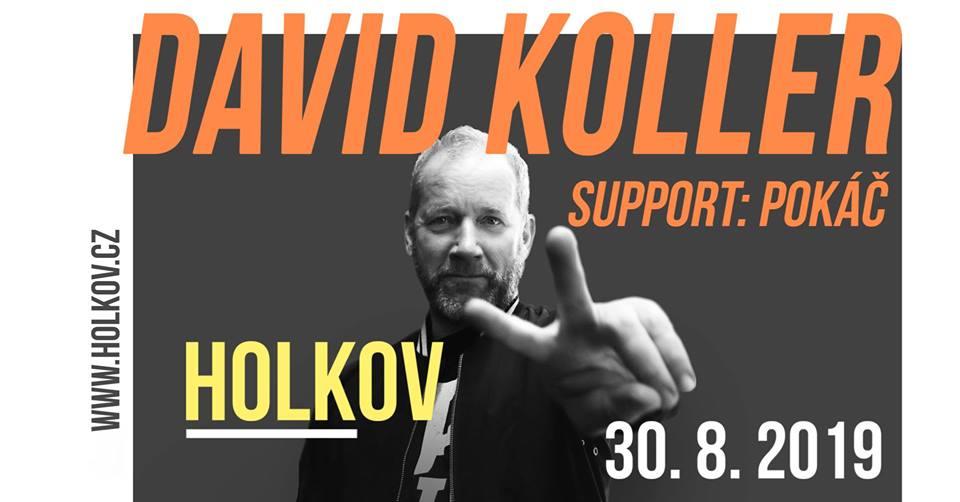 David Koller / Letní parket Holkov
