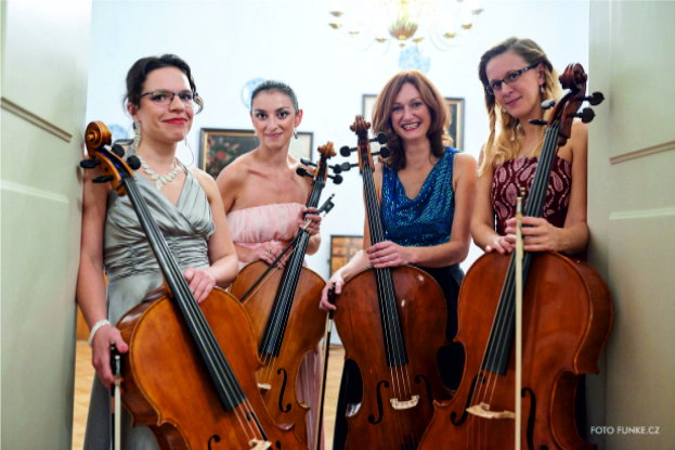 FILMOVÁ A ADVENTNÍ HUDBA s dámským kvartetem 4-cello