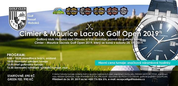 Cimier & Maurice Lacroix Golf Open 2019