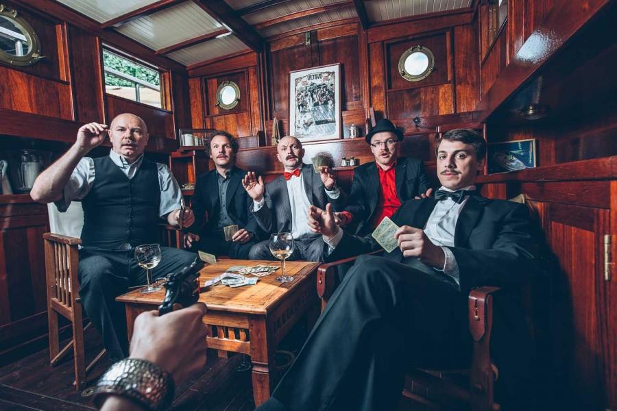 Koncert Bez závory: kapela Vltava