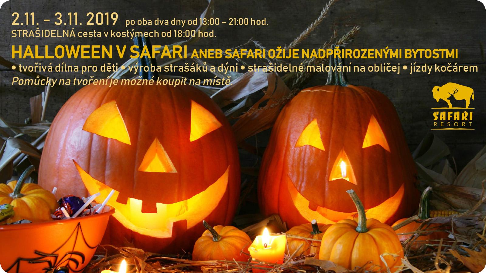 Halloween v Safari