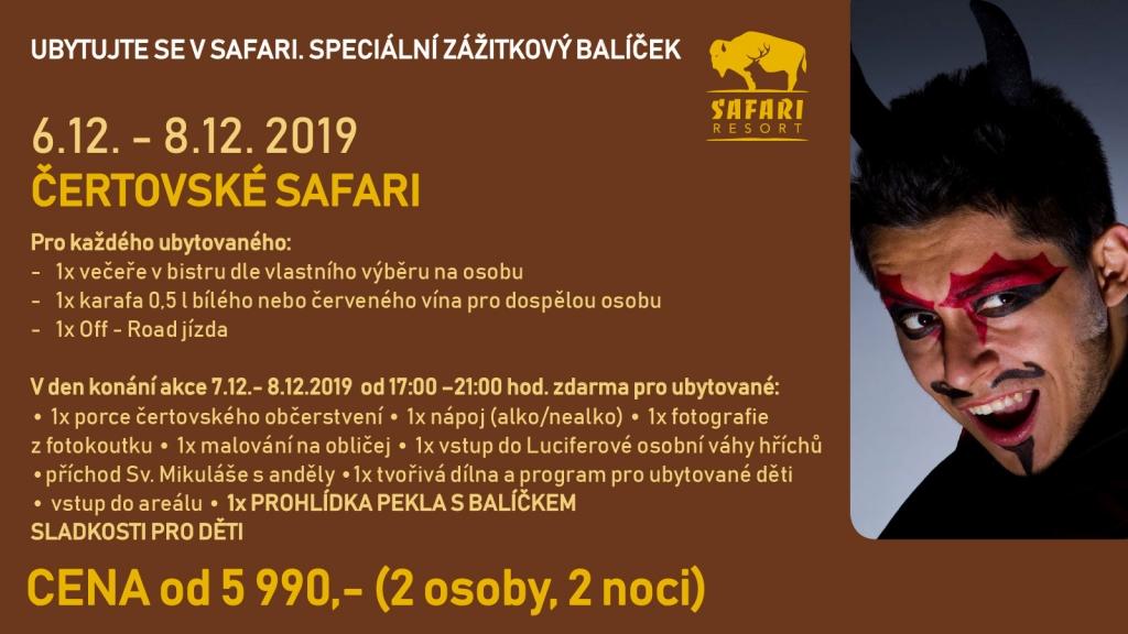 Čertovské Safari