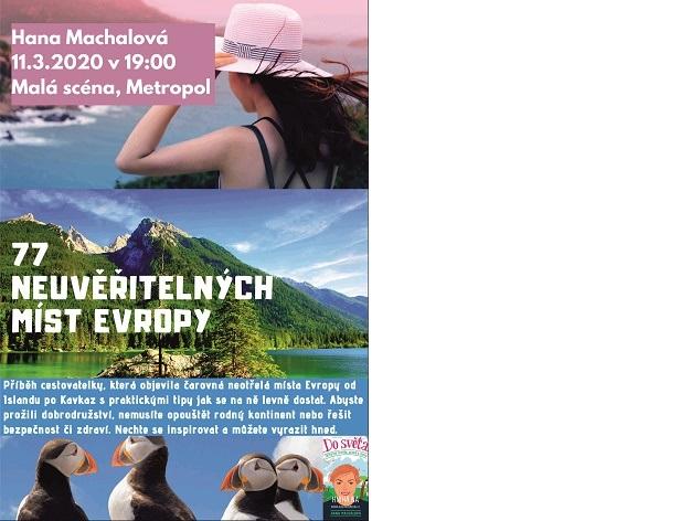 Hana Machalová: 77 neuvěřitelných míst Evropy