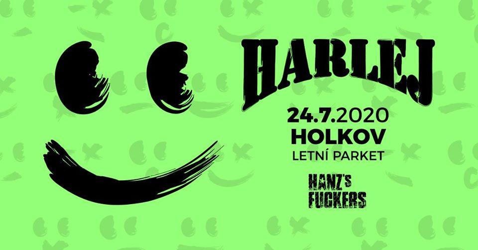 Harlej - Letní parket Holkov; support: Hanzs Fuckers