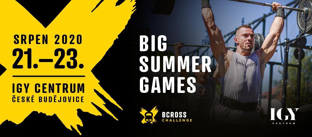 IGY CENTRUM ZVE NA JEDINEČNÉ Big Summer Games 2020